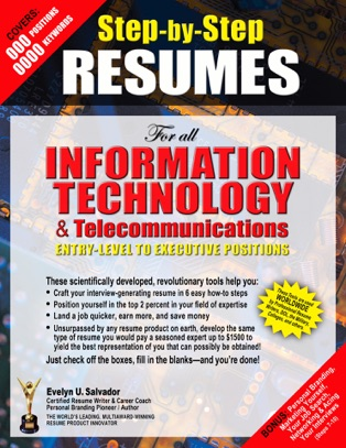 step by step resumes for all information technology positions